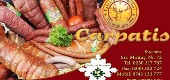 Carpatis. Prospetimea produselor bucovinene