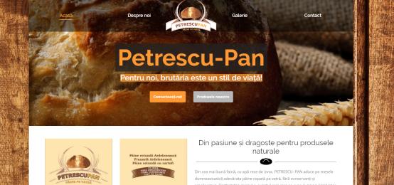 Paine naturala Petrescu Pan
