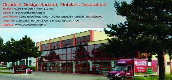 Occident Design Radauti, Mobila si Decoratiuni