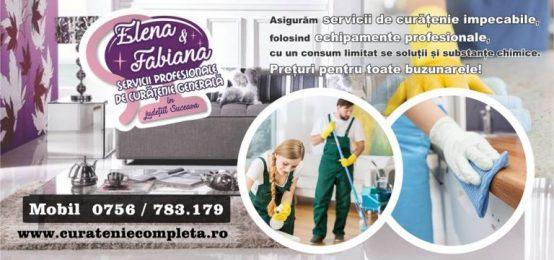 Servicii profesionale de curatenie generala in Suceava