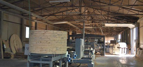 Bobine si tamburi din lemn pentru cabluri | Marmob, Marginea