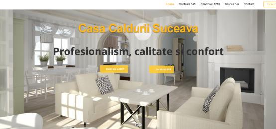 Centrale termice, seminee, sobe Suceava – Casa Caldurii