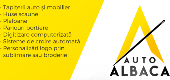 Automotive Albaca – Confectionare si reconditionare tapiterii, huse, plafoane