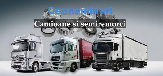 Dezmembrari camioane si semiremorci – DezBucovina Frasin