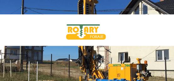 Rotary Foraje – foraje apa, puturi, fantani, pompe de caldura