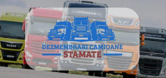 Piese camioane si Dezmembrari camioane in Stamate