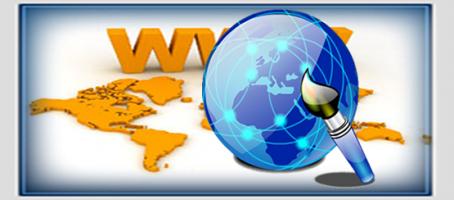 Web design spot radio