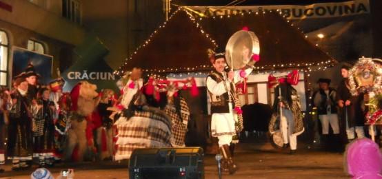 Craciun in Bucovina Radauti. Festivalul de datini şi obiceiuri de iarnă