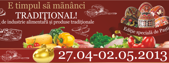 Targ national de industrie alimentara si  produse traditionale.