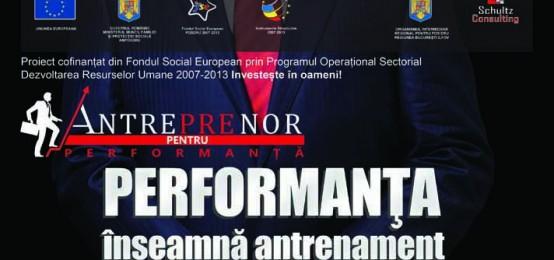 Comunicat ANTRE(pre)NOR pentru PERFORMANTA