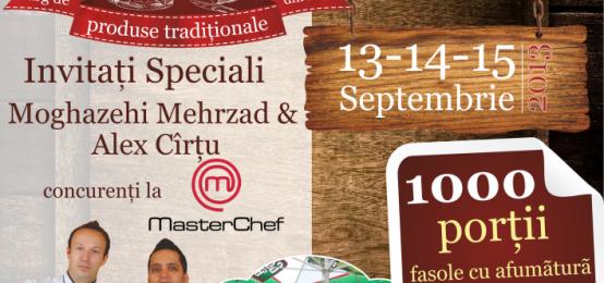 Târgul Alimenta Tradiţional  13 – 15 septembrie  în parcarea Shopping City Suceava