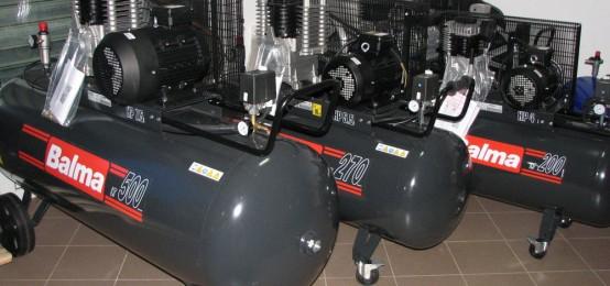 Compresor de aer. Bovasel Service
