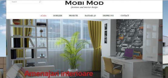 Mobi Mod – proiectari 3D, mobila si amenajari interioare / exterioare, mobila la comanda