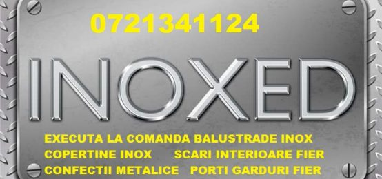 Confectii metalice, inox – Inoxed