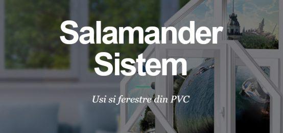 Tamplarie PVC si Aluminiu | Salamander Sistem