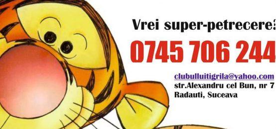 Clubul lui Tigrila – Spatiu de joaca, cursuri de dans aerobic Radauti