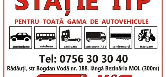 ITP Radauti, Statie ITP | Statie ITP Sori-Nis